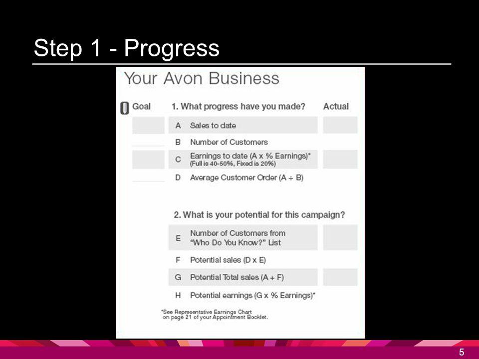 5 Step 1 - Progress 5