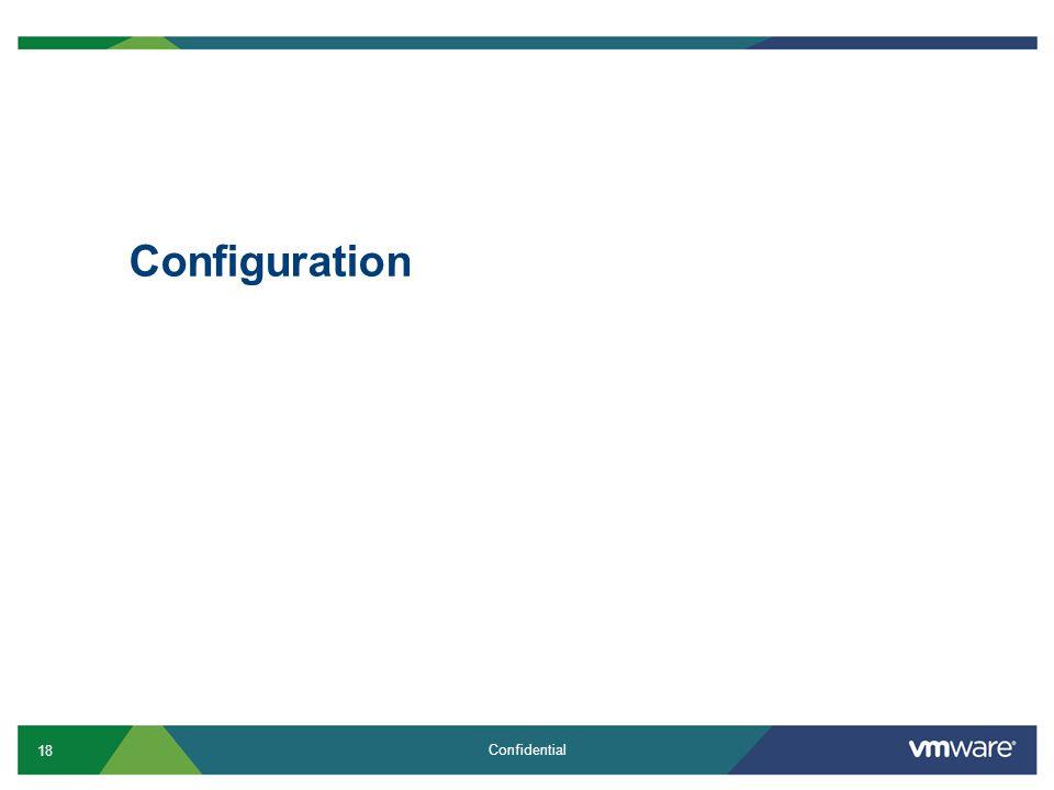 18 Confidential Configuration