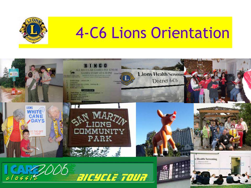 4-C6 Lions Orientation
