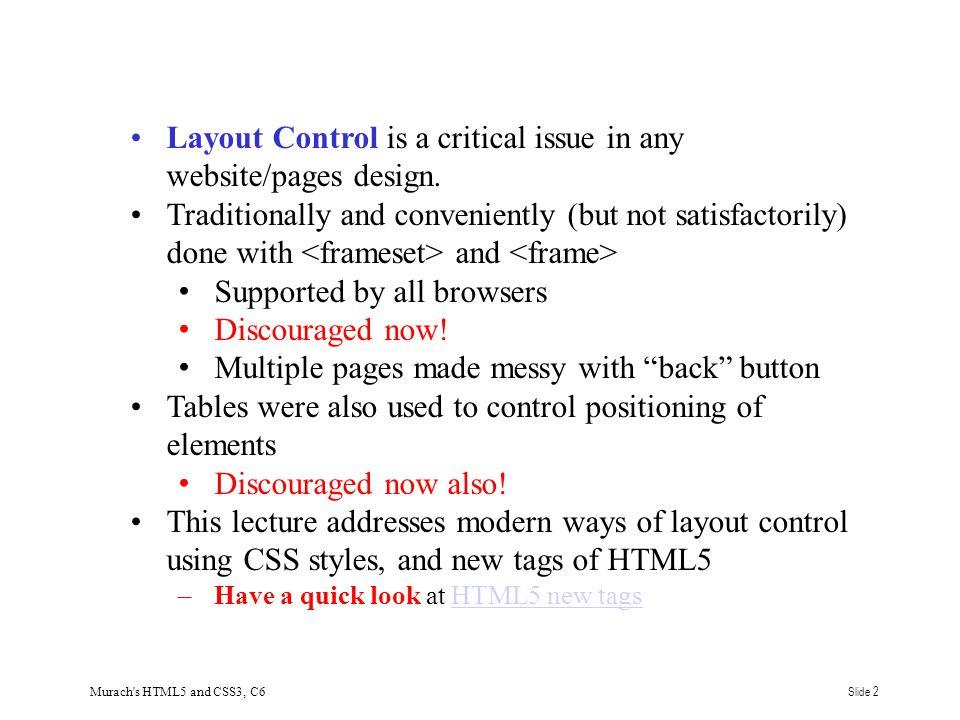 Murach s HTML5 and CSS3, C6Slide 13
