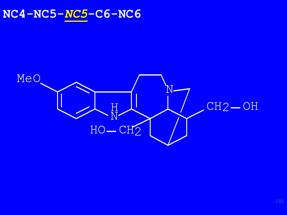 101 NC5 NC4-NC5-NC5-C6-NC6