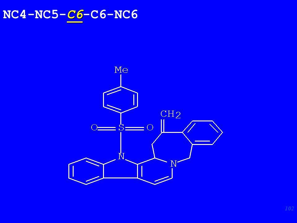 102 C6 NC4-NC5-C6-C6-NC6