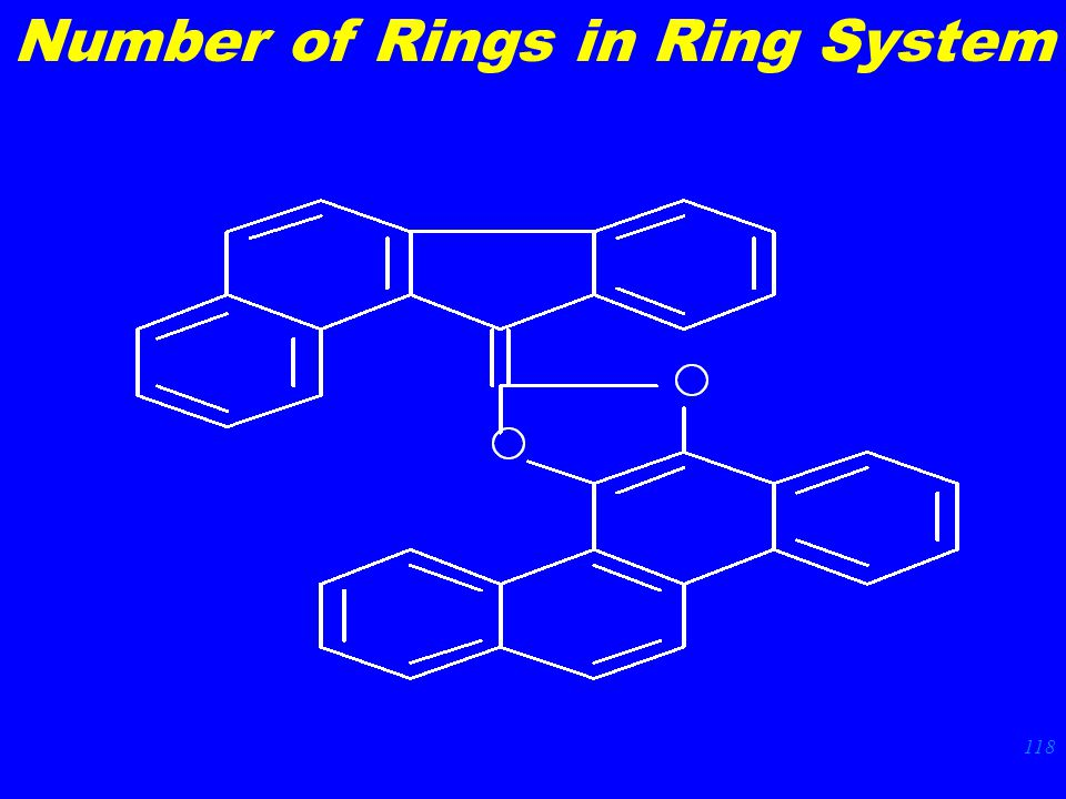 118 Number of Rings in Ring System