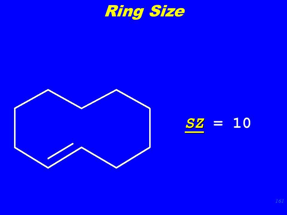 161 SZ SZ = 10 Ring Size