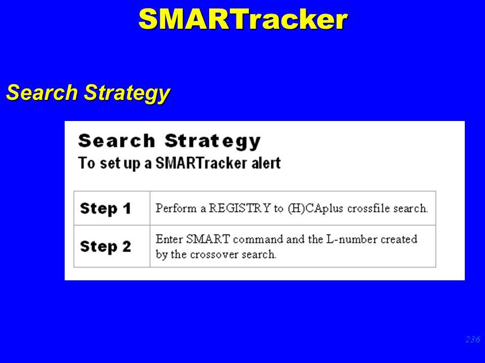 236 Search Strategy p. 78SMARTracker