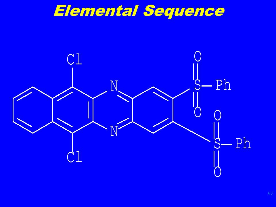 92 Elemental Sequence