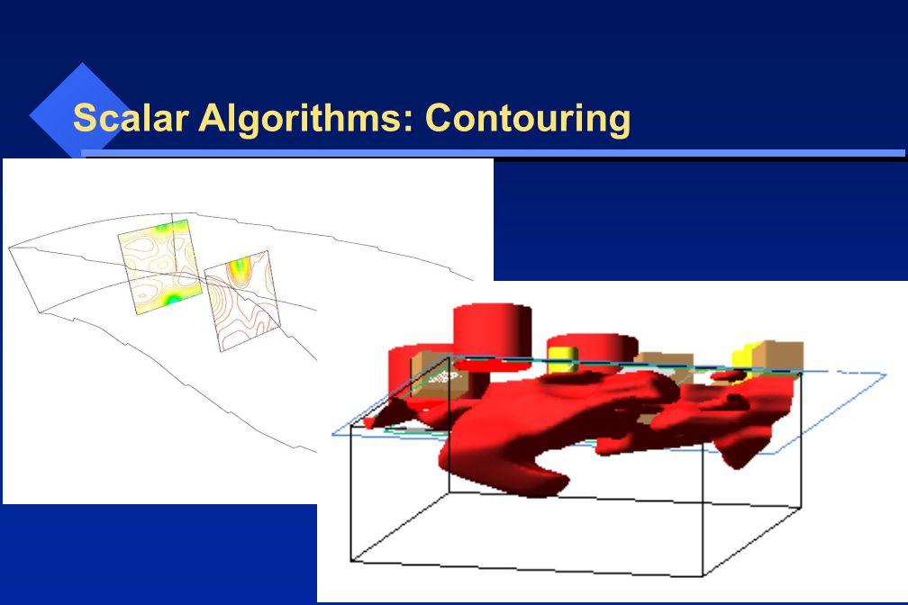 Scalar Algorithms: Contouring