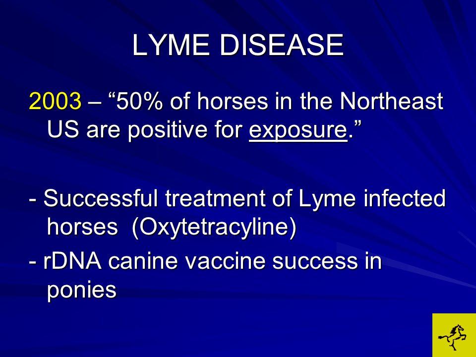LYME DISEASE TREATMENTANTIBIOTICSNSAIDs CHONDROPROTECTIVE AGENTS PROBIOTICS