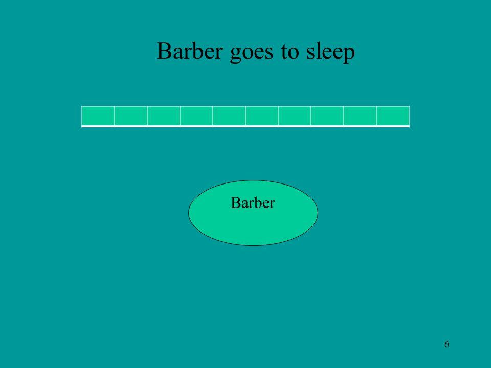 6 Barber Barber goes to sleep