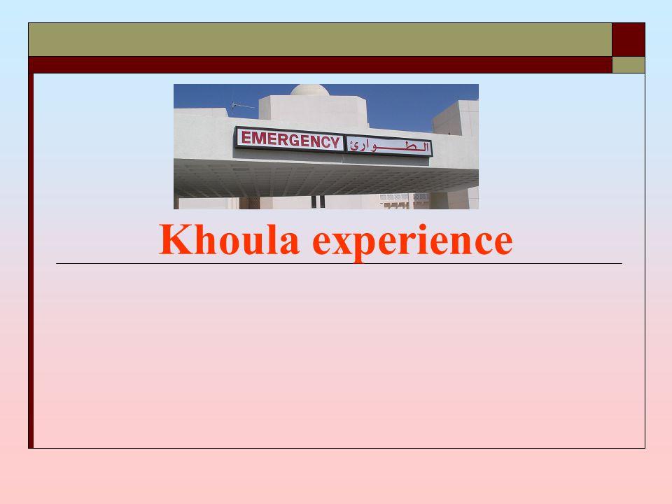 Khoula experience