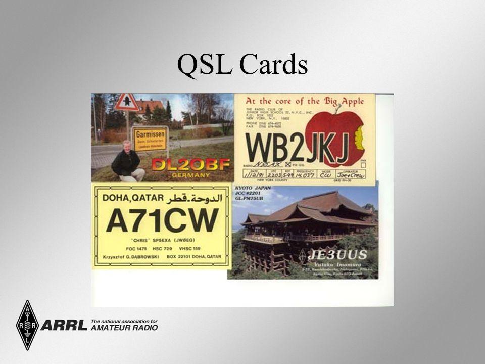 Q – Signals originated as shortcuts for Morse Code (CW) sending.