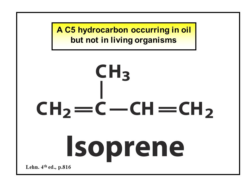The way of isoprenoid synthesis (1) an enzyme of  -oxidation C2+C2 = C4