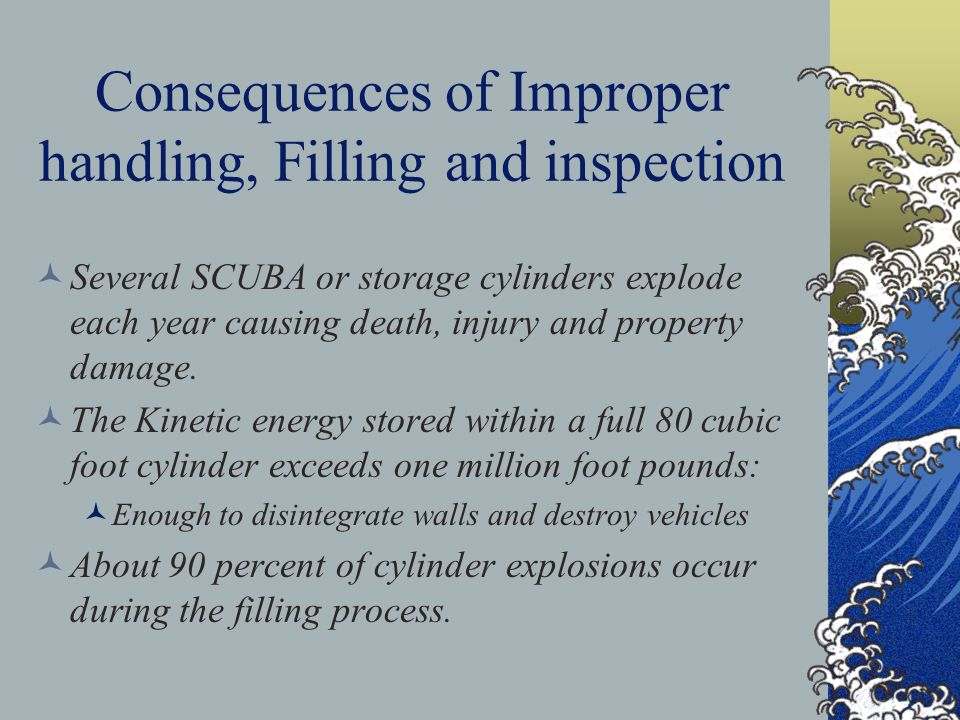 SCBA Limitations Although protected to some degree by the protective overwrap, the SCBA aluminum liner should not reach a sustained temperature exceeding 250 deg.