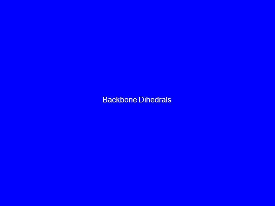 Backbone Dihedrals