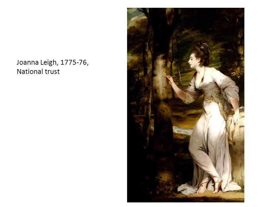 Joanna Leigh, 1775-76, National trust