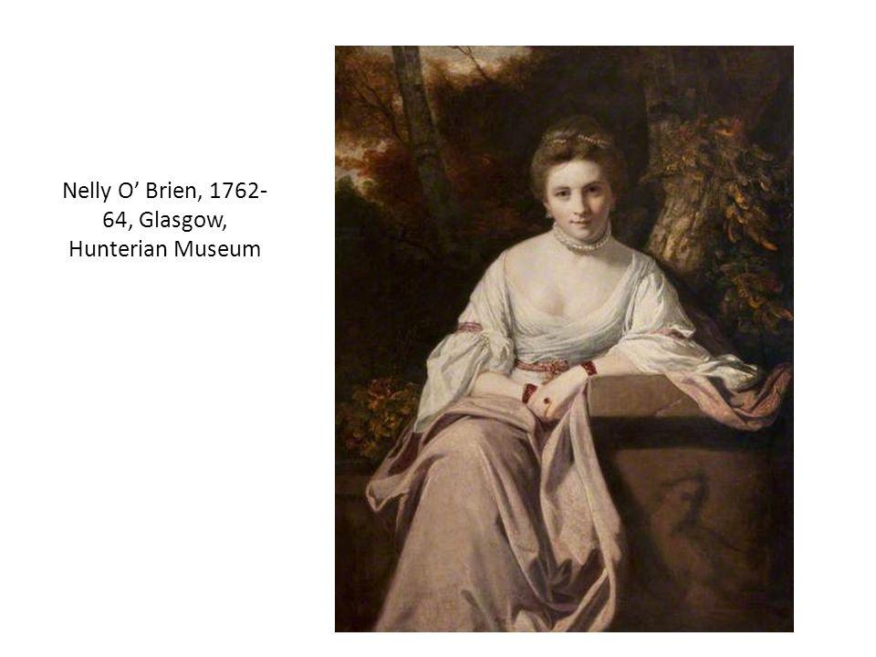 Nelly O' Brien, 1762- 64, Glasgow, Hunterian Museum