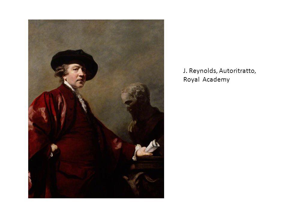 J. Reynolds, Autoritratto, Royal Academy