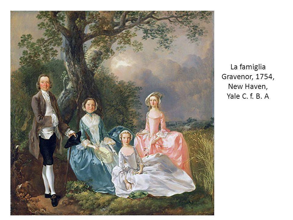 La famiglia Gravenor, 1754, New Haven, Yale C. f. B. A