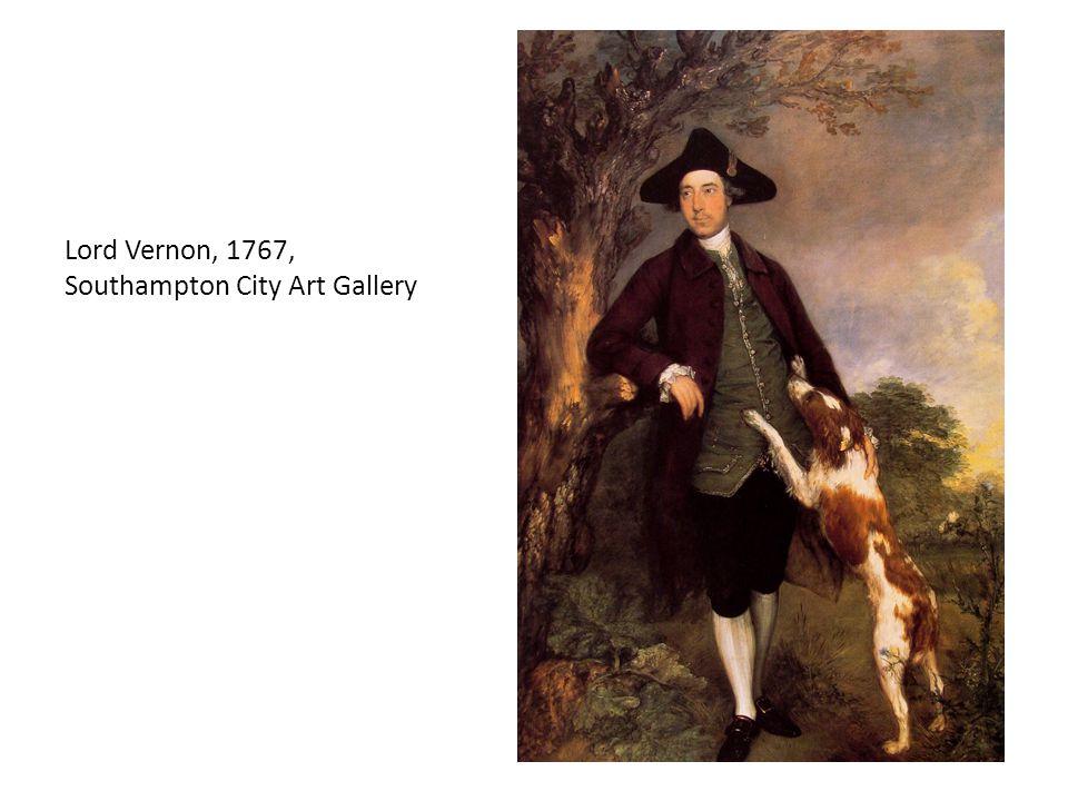 Lord Vernon, 1767, Southampton City Art Gallery