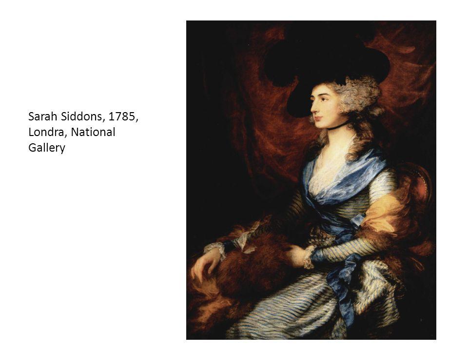 Sarah Siddons, 1785, Londra, National Gallery