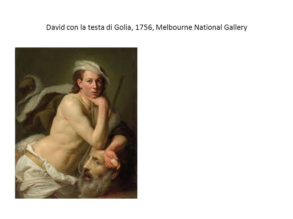 David con la testa di Golia, 1756, Melbourne National Gallery