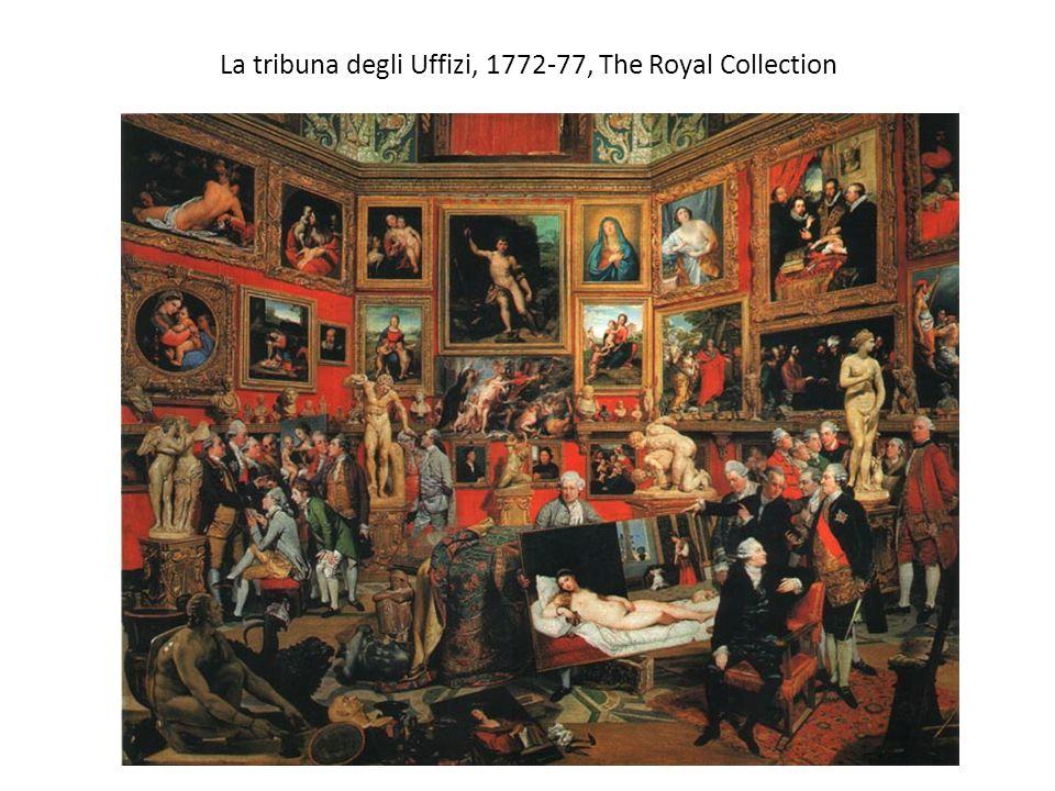 La tribuna degli Uffizi, 1772-77, The Royal Collection