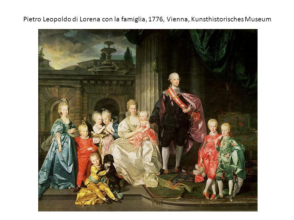 Pietro Leopoldo di Lorena con la famiglia, 1776, Vienna, Kunsthistorisches Museum