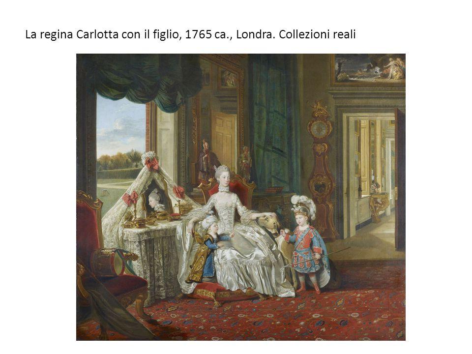 La regina Carlotta con il figlio, 1765 ca., Londra. Collezioni reali