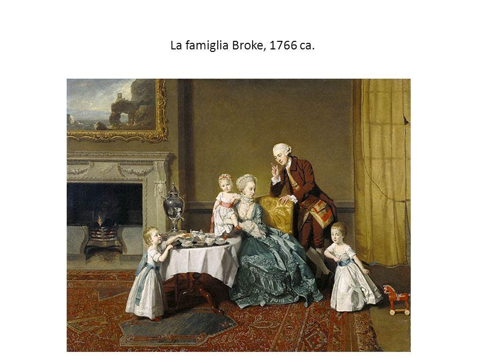 La famiglia Broke, 1766 ca.