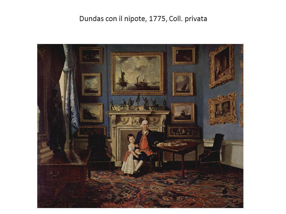 Dundas con il nipote, 1775, Coll. privata