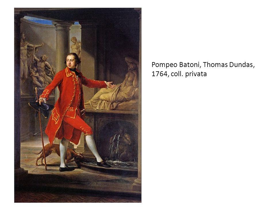 Pompeo Batoni, Thomas Dundas, 1764, coll. privata