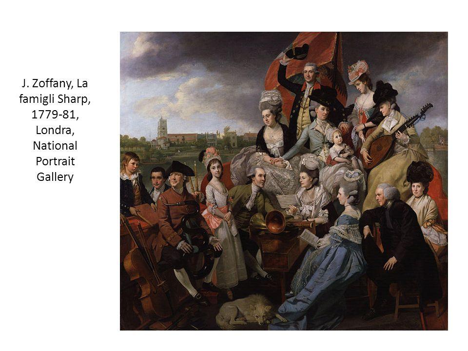 J. Zoffany, La famigli Sharp, 1779-81, Londra, National Portrait Gallery