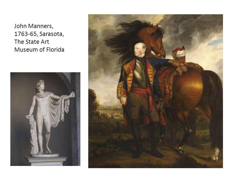John Manners, 1763-65, Sarasota, The State Art Museum of Florida