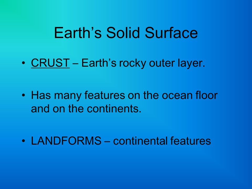 The Mariana Trench is a feature of the floor of the Pacific Ocean.