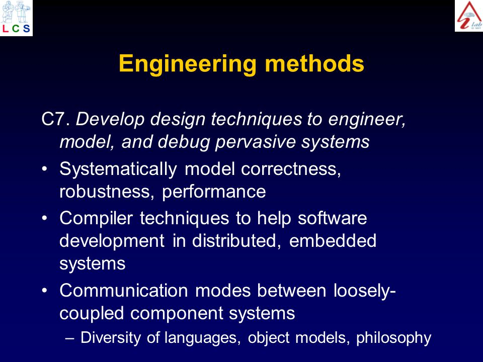 Engineering methods C7.