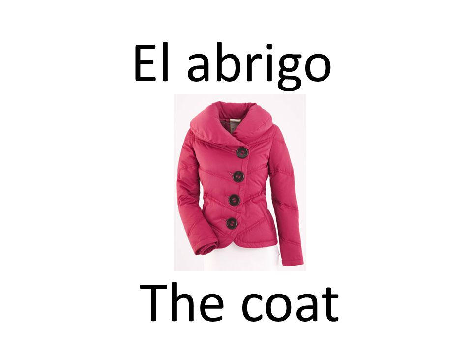 El abrigo The coat