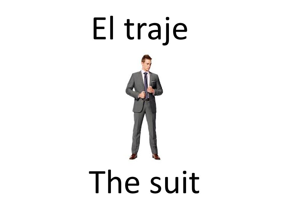 El traje The suit