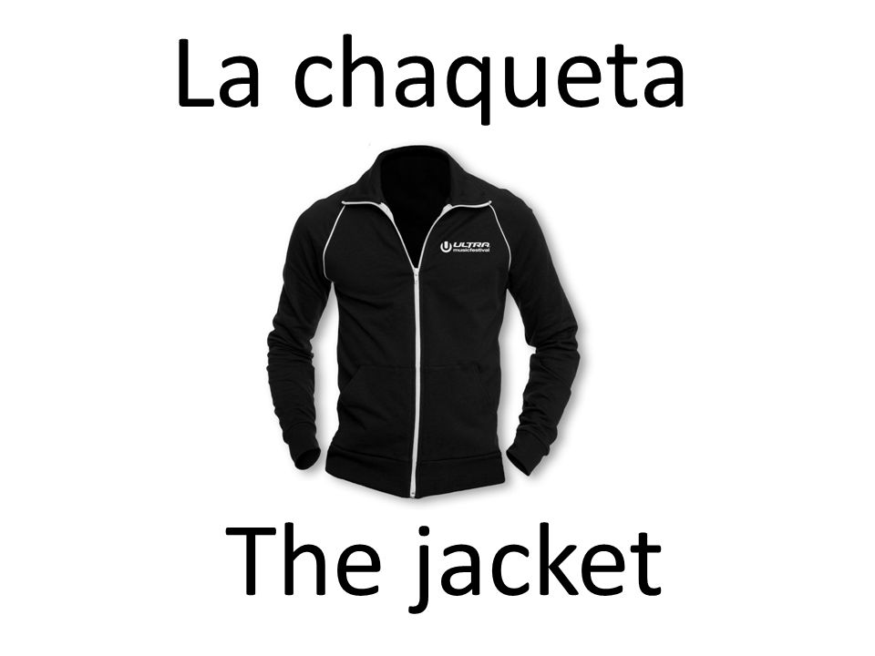 La chaqueta The jacket