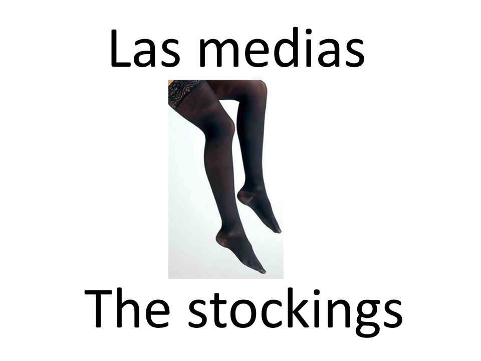 Las medias The stockings