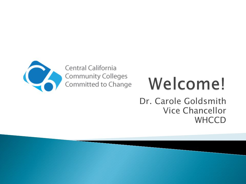 Capital Investments The C6 Consortium, representing 11 Central California community colleges committed to change, is working together to lead reform efforts that will change educational practice and policies in California.