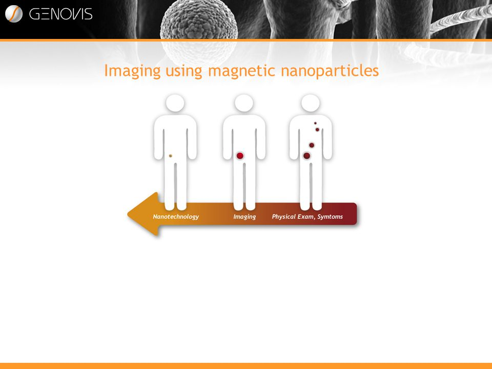 Imaging using magnetic nanoparticles Marknaden drivs av ett medicinskt behov av effektivare och känsligare diagnostik