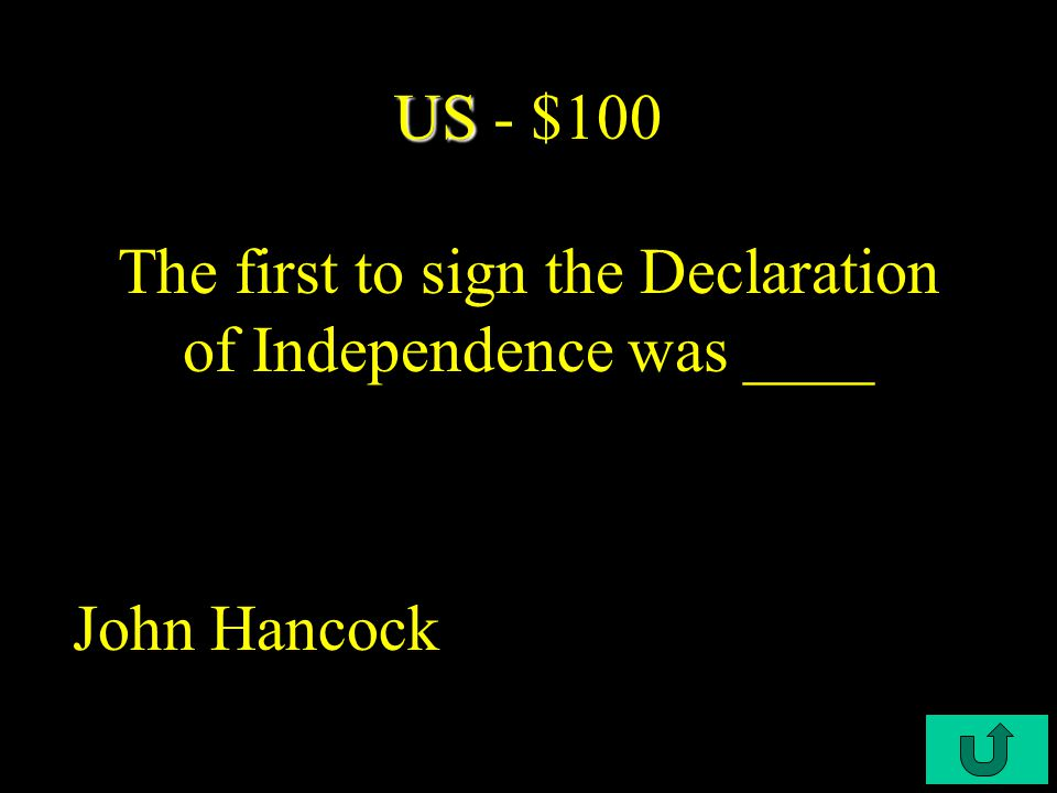 C2-$500 Battles Battles - $500 The basic strategy of the British in 1777 was to try to isolate ____ New England