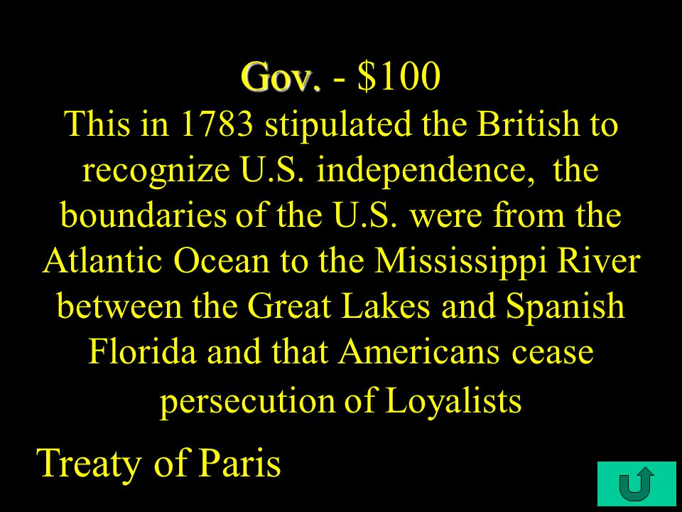 C4-$500 Continentals Continentals - $500 French officer who ultimately secured France's assistance for the Colonials Marquis de Lafayette