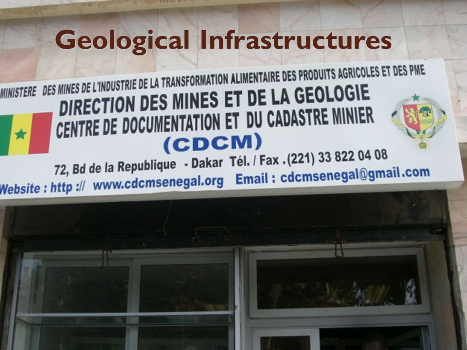 15 Geological Infrastructures