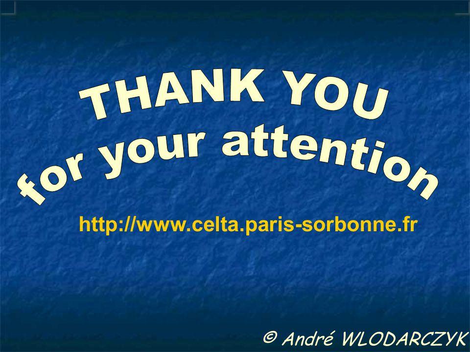 © André WLODARCZYK http://www.celta.paris-sorbonne.fr