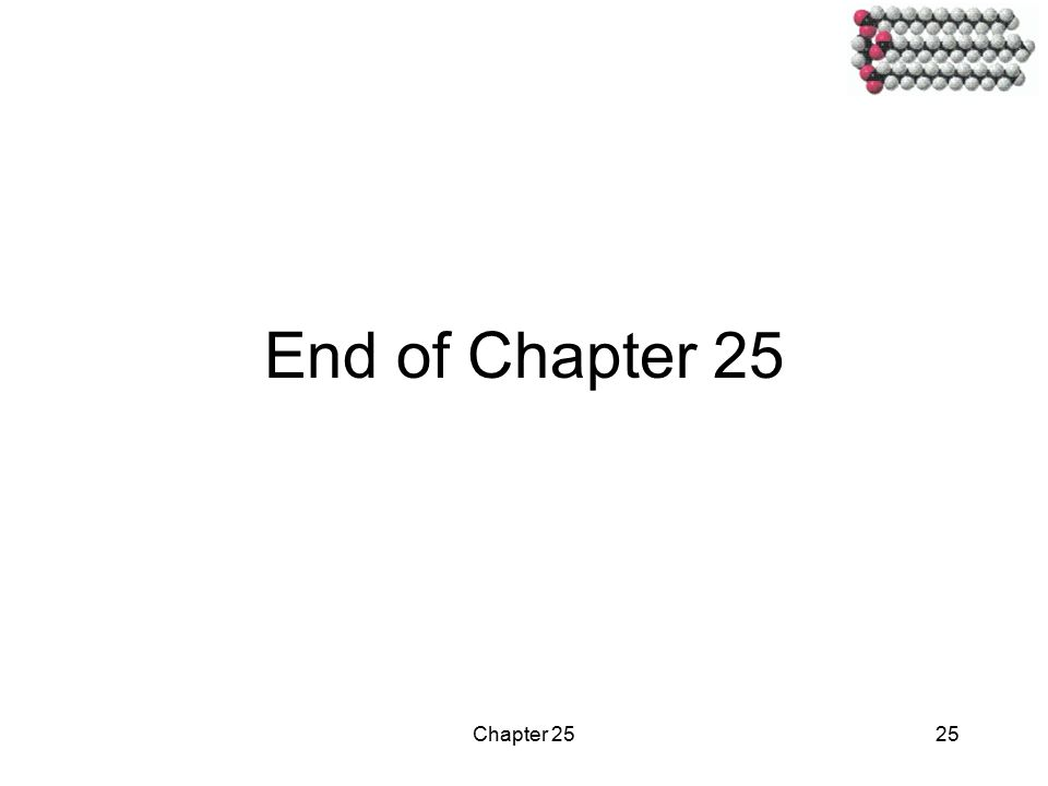 Chapter 2525 End of Chapter 25