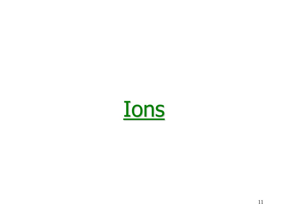 11Ions