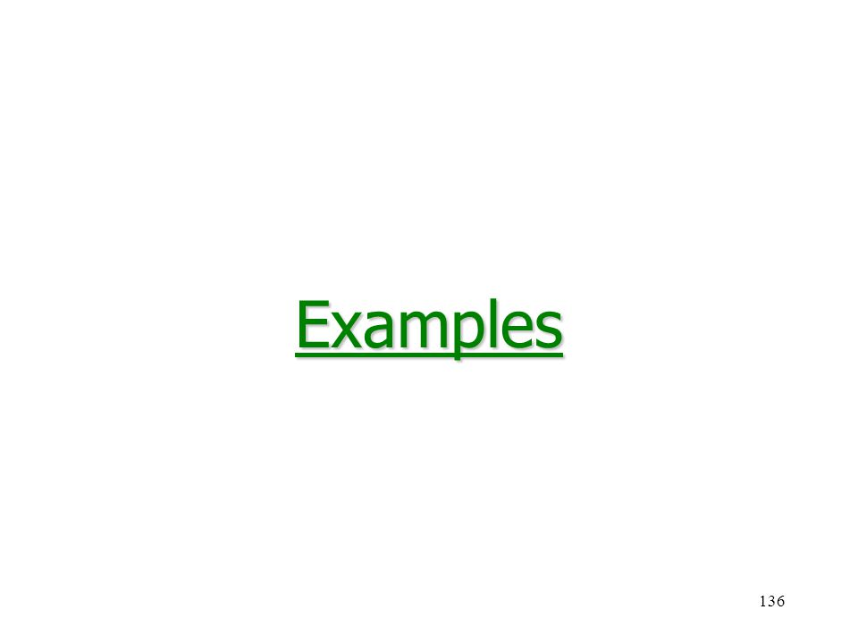 136Examples