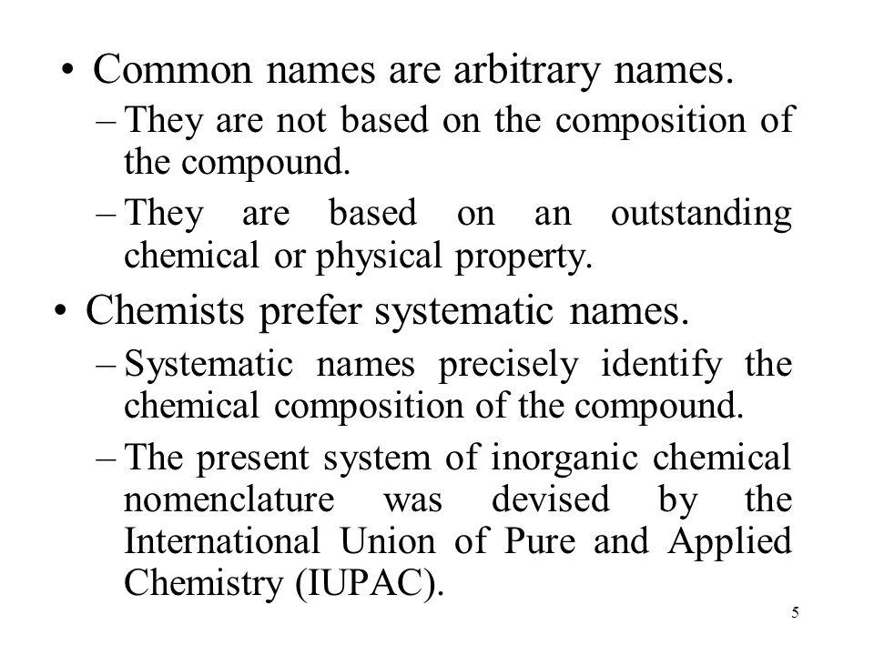 26 Atom Anion Name of Anion bromine (Br) Br - bromide ion stem