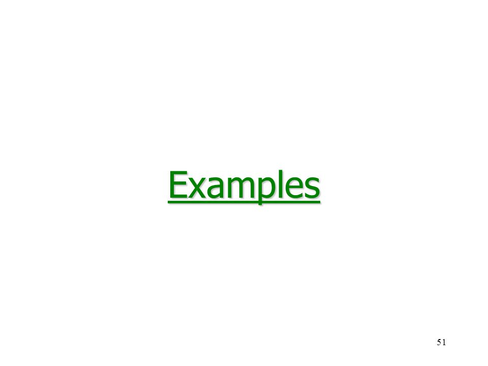 51Examples